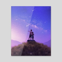 Cosmic Magic - Acrylic by Pocketofwonders