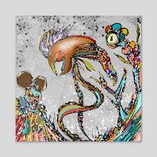 My kingdom - Acrylic by J.Bello Studio