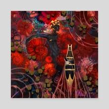 underwater - Canvas by Jian Guo