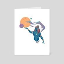 Shiva 3.0 - Art Card by Shehzad  Kapadia