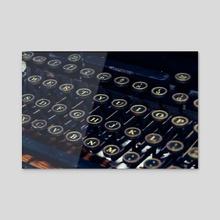 Mechanical Keyboard - Acrylic by Alex Tonetti