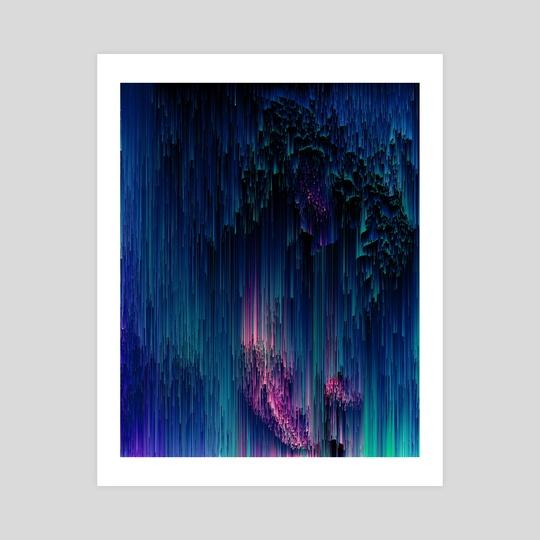 Glitchy Night by Jennifer Walsh