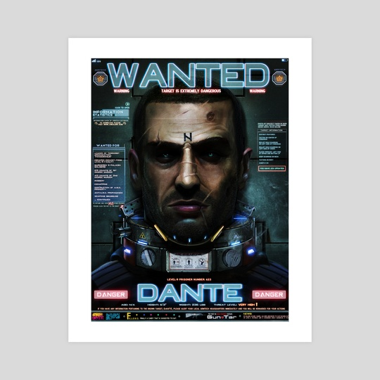 DANTE - WANTED by Dan LuVisi
