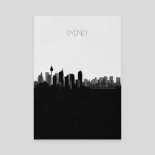 Sydney - Canvas by Deniz Akerman