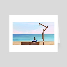 Quiet Time - Art Card by Renike