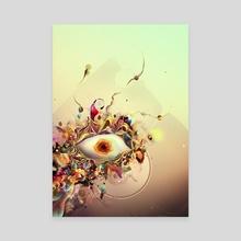 Third Eye - Canvas by Igor Šćekić