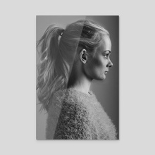 Tiril Profile - Acrylic by Sander Evers