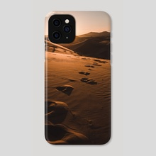 Morocco desert - Phone Case by Monika Lis