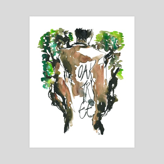 Oak Tree (Genjimonogatari) by Maiji/Mary Huang