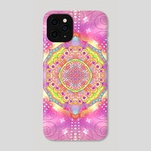 Mandala Five - Phone Case by Haile Dietz