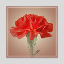 carnation - Canvas by Yoon-hee Kim