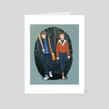 Stranger Things - Art Card by Ophélie Cohen
