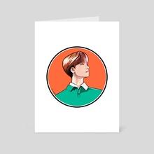 Rainbow - Jay - Art Card by milkyopi