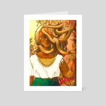 Priestess - Art Card by thenothingmaker