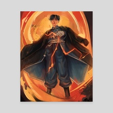 Roy Mustang Yoongi - Canvas by ProTeaDrinker