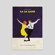 La La Land - Canvas by Deniz Akerman