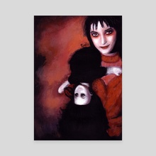 Lydia Deetz - Canvas by Rouble Rust