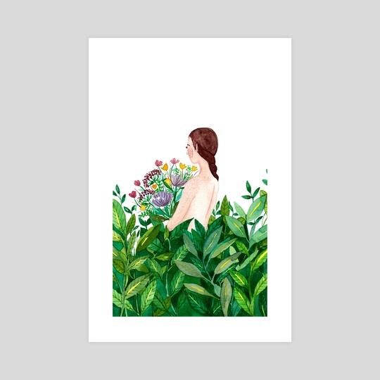 Flower girl by Starista Jacobsen