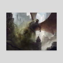 Deathbringer Regent - Canvas by Adam Paquette