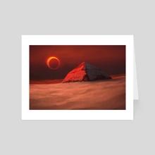 Eclipse - Art Card by Lukasz Jaskolski