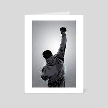 Rocky Win - Art Card by Nikita Abakumov