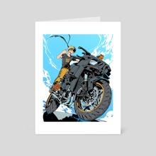 Kawasaki Ninja - Art Card by hello clonion