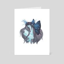 White Magic, Gentle Folk - Art Card by Tiffany England