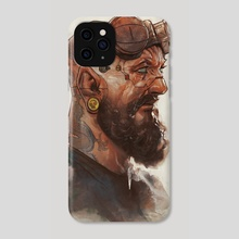The Mechanic  - Phone Case by Rafael Sarmento