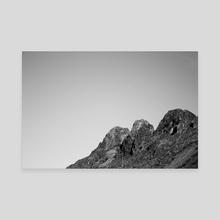 Overhead - Canvas by Deborah Valcin