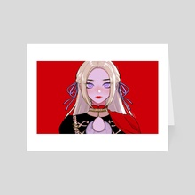 FE3H // Edelgard - Art Card by Shari Coté