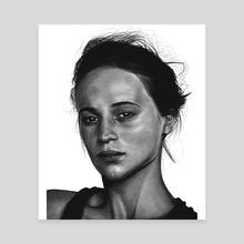 Alicia Vikander - Canvas by Bartosz Gorczyca