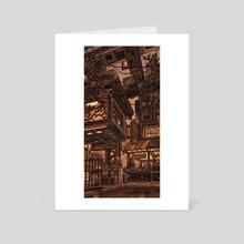 Southern Outskirts - Art Card by waneella