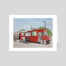 Audobon Park Auto Zone - Art Card by JOSHUA MORTENSON