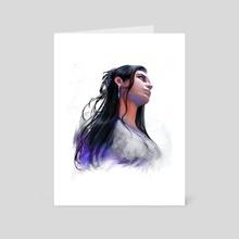 Ena (light) - Art Card by Vapidus