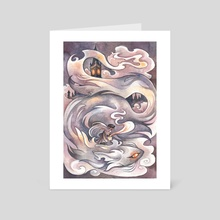 London Fog - Art Card by Emily Smith