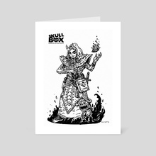 SKULLBOX Warlock - Art Card by Shardstone