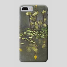 Lilly Pads at Night - Phone Case by jeremiah jolliff