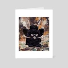 Bapho-furb - Art Card by Sammi McEwan