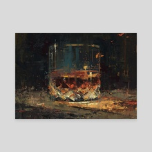 Cheers!  - Canvas by Allison Gloe