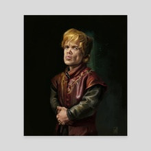 Tyrion Lannister - Canvas by Darko Stojanovic