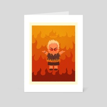Flavour Baby - Art Card by Cy Nguyen