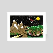 Dream Flight - Art Card by Evgeniya Yantsen