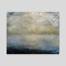 Cloud Study  - Canvas by Agam Neiman