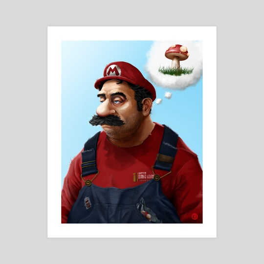 The Real Super Mario by Tom Velez
