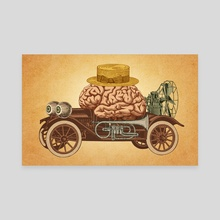Intelligent Car - Canvas by Pepetto