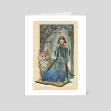 Game of Thrones - Lady - Art Card by Grace Fong