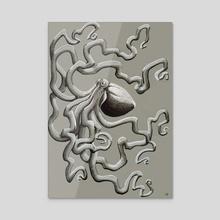 Octopus - Acrylic by Archelonne