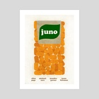 Juno Film Poster - Art Print by Paul Rice