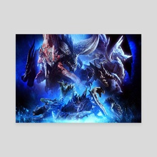 monster hunter world iceborne - Canvas by charalampos kypr