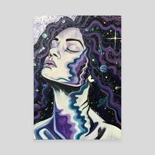 Celestial - Canvas by Caitlin Rose